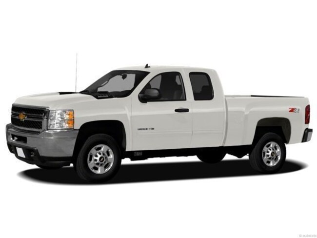 2012 Chevrolet Silverado 2500HD LT 4WD Extended Cab Long Bed Truck Extended Cab