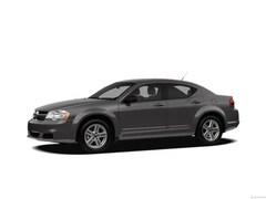 2012 Dodge Avenger SXT Plus Sedan