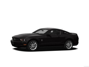 2012 Ford Mustang V6 Coupe 6 Speed With Sport Appearance Package Coupe