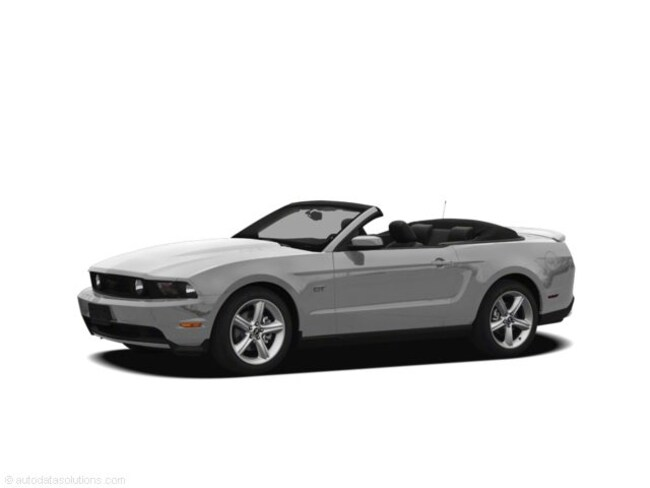 2012 Ford Mustang 2dr Conv V6