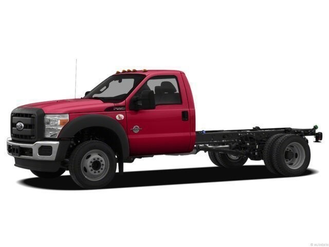 2012 Ford F-550 Chassis Cab Chassis Truck
