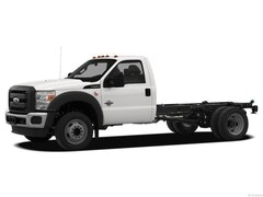 2012 Ford F-550 Chassis Truck Regular Cab