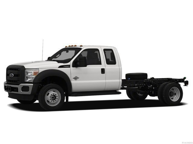 2012 Ford F-550 Chassis Truck Super Cab
