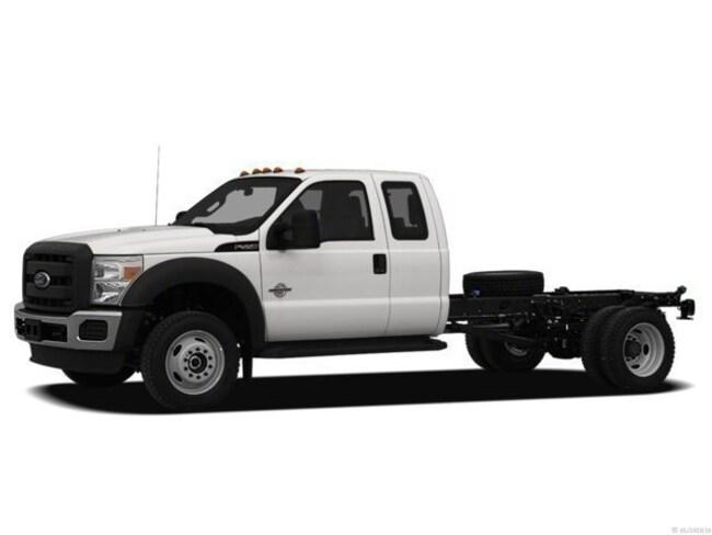 2012 Ford F-550 4WD Truck Super Cab
