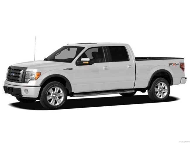 2012 Ford F-150 Platinum Crew Cab Short Bed Truck