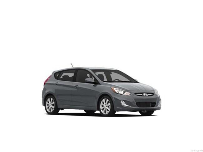2012 Hyundai Accent SE (A6) Hatchback Cyclone Gray