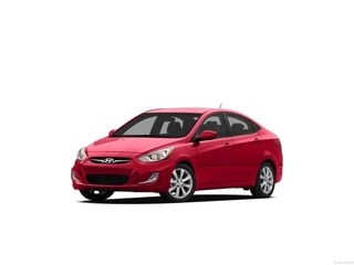 2012 Hyundai Accent GLS (M6) Sedan Boston Red