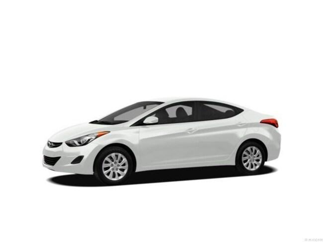 2012 Hyundai Elantra 4dr Sdn Auto GLS Car
