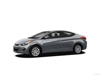 2012 Hyundai Elantra GLS w/PZEV (A6) Sedan Blue Sky
