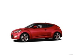 Used 2012 Hyundai Veloster Base w/Red/Black (A6) Hatchback for sale in Decatur, TX