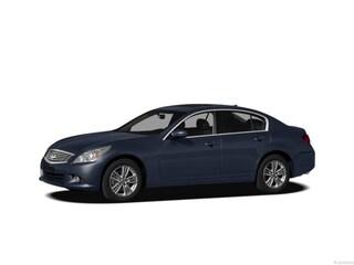 2012 INFINITI G25 Sedan x x AWD