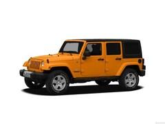 2012 Jeep Wrangler Unlimited Sport SUV