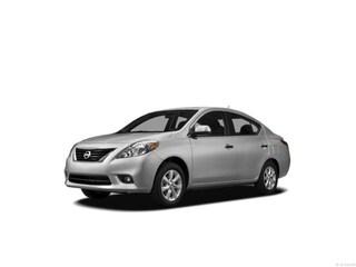Bargain Used 2012 Nissan Versa 1.6 S Sedan near Providence