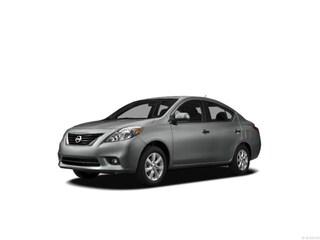 2012 Nissan Versa 1.6 SV 1.6 SV  Sedan