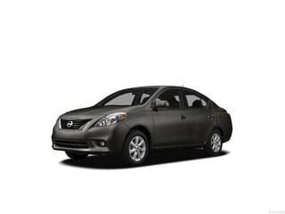 2012 Nissan Versa 1.6 SV (CVT) Sedan