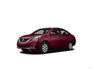 2012 Nissan Versa 1.6 SL (CVT) Sedan