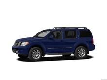 2012 Nissan Pathfinder SV SUV
