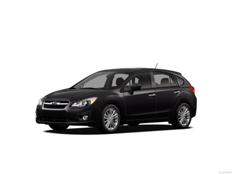 2012 Subaru Impreza 2.0i Sport Premium Sedan
