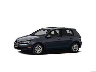2012 Volkswagen Golf 2.5L 4-door w/Convenience Package & Sunroof/PZEV (A6) Hatchback