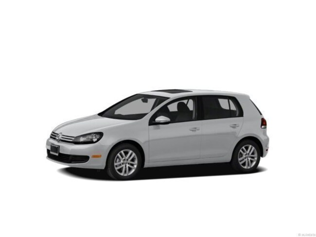 2012 Volkswagen Golf TDI 4-door (A6) Hatchback