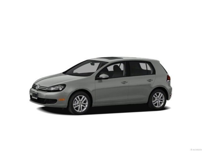 2012 Volkswagen Golf TDI 4-door Hatchback