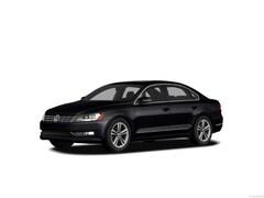 2012 Volkswagen Passat 2.5L SEL w/PZEV Sedan