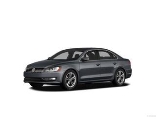2012 Volkswagen Passat TDI SE w/Sunroof Sedan