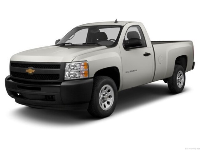 Used 2013 Chevrolet Silverado 1500 WT Long Box Truck Regular Cab near Fayetteville