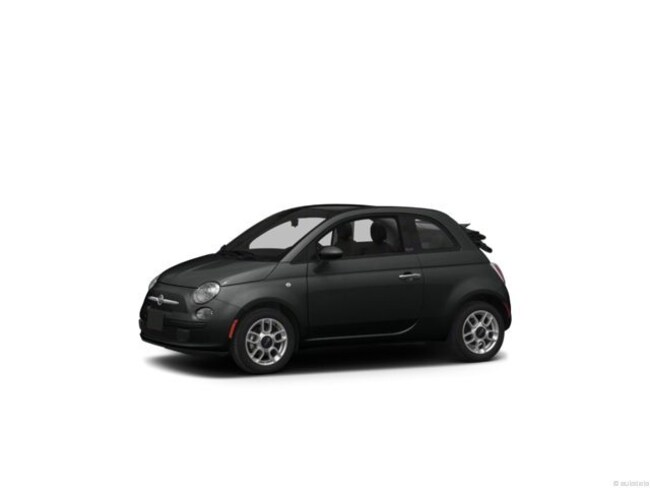 Used 2013 FIAT 500 Lounge Convertible in Burlingame