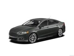 2013 Ford Fusion 4dr Sdn Titanium AWD Car