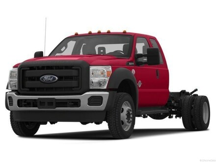 2013 Ford F-550 Chassis XL Truck Super Cab