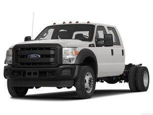2013 Ford F550 Crew CAB CHASSIS