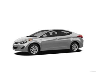 2013 Hyundai Elantra Limited Htd Lthr Sedan