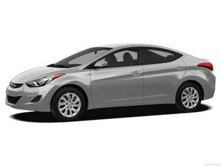 2013 Hyundai Elantra GLS w/PZEV Sedan Radiant Silver
