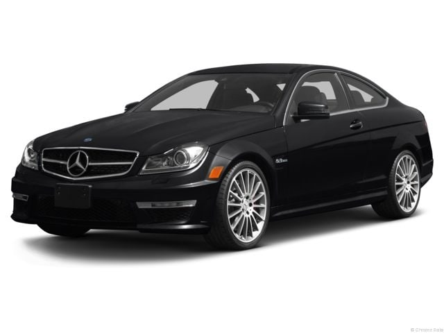 Elegant Used 2013 Mercedes Benz C 63 AMG C 63 AMG 2dr Cpe RWD Coupe For