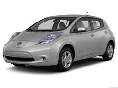 Used 2013 Nissan LEAF S Hatchback for sale in Merced, CA