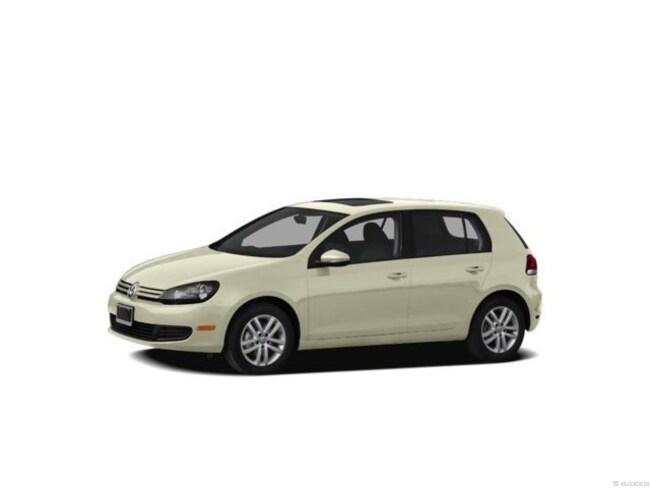 2013 Volkswagen Golf TDI w/Sunroof & Nav Hatchback
