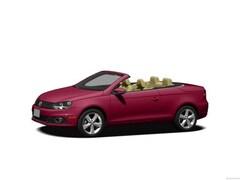 2013 Volkswagen Eos Sport FWD Convertible
