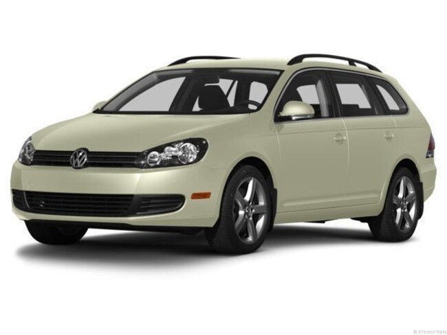 2013 Volkswagen Jetta Sportwagen TDI w/Sunroof & Nav Station Wagon