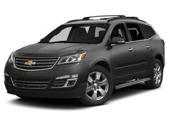 Certified Pre-Owned 2014 Chevrolet Traverse LTZ SUV for sale on Long Island