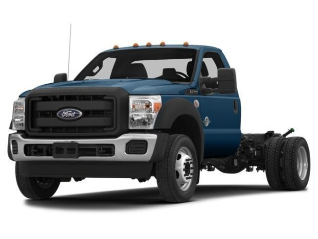 2014 Ford F-550 Chassis Cab Chassis Truck