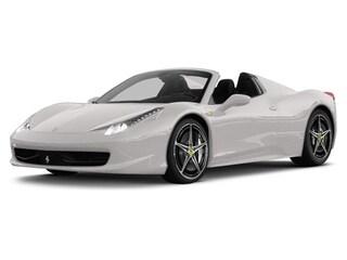 Pre Owned 2014 Ferrari 458 Spider . Convertible For Sale San Antonio TX