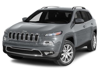 Used 2014 Jeep Cherokee Latitude 4x4 SUV 4x4 Automatic 1C4PJMCS2EW209812 For sale in Clinton, IL