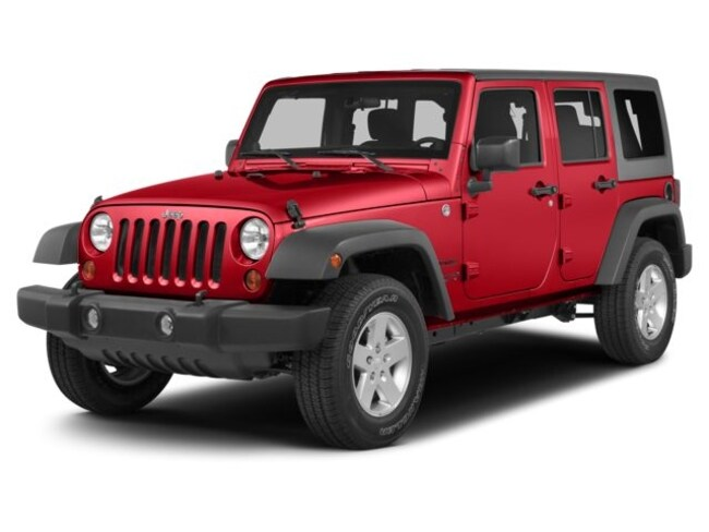 Used 2014 Jeep Wrangler Unlimited Sport 4x4 SUV for sale in the Brunswick, OH