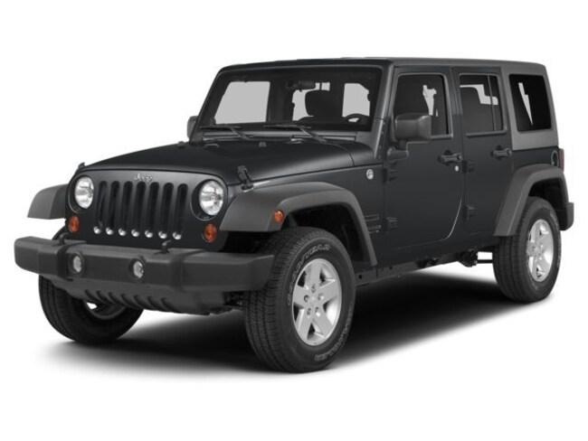 2014 Jeep Wrangler Unlimited Sahara 4x4 SUV