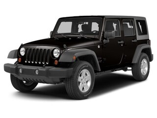 Used 2014 Jeep Wrangler Unlimited Rubicon SUV P6731 for sale in Salina, KS