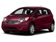 2014 Nissan Versa Note FWDHatchback