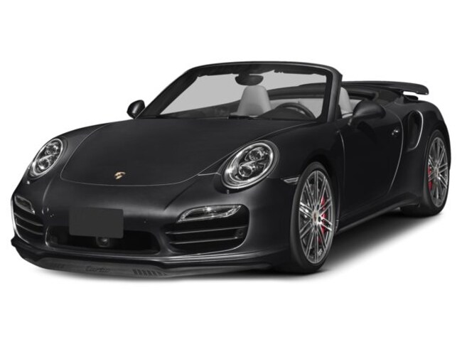 Certified Pre-Owned 2014 Porsche 911 Turbo Cabriolet for sale in Houston, TX