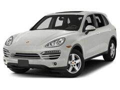 Used 2014 Porsche Cayenne Diesel SUV WP1AF2A21ELA48495 L2060391A for sale in Hartford, CT