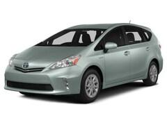 Certified 2014 Toyota Prius v Three 5dr Wgn  Natl Wagon